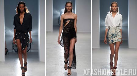 Коллекция весна-лето 2014 Anthony Vaccarello