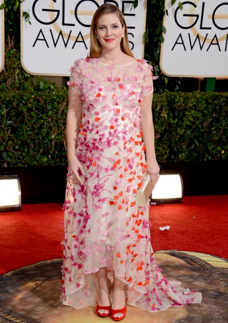 drew-barrymore-golden-globes-red-carpet-2014
