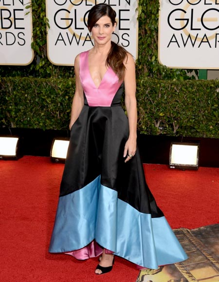 sandra-bullock-golden-globes-red-carpet-2014