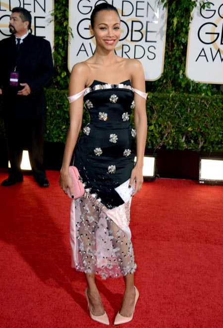 zoe-saldana-golden-globes-red-carpet-2014