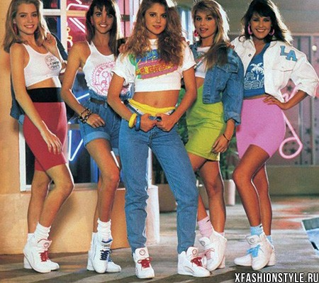 photo of girls 80's clothes № 1333